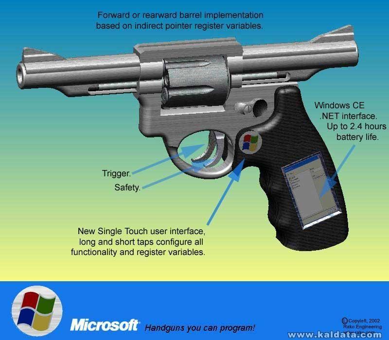 Пистолетът на Microsoft