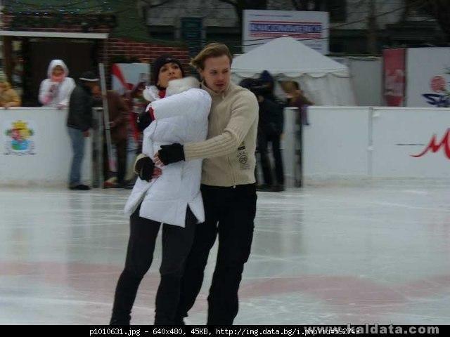 Албена и Максим,Коледа 2006