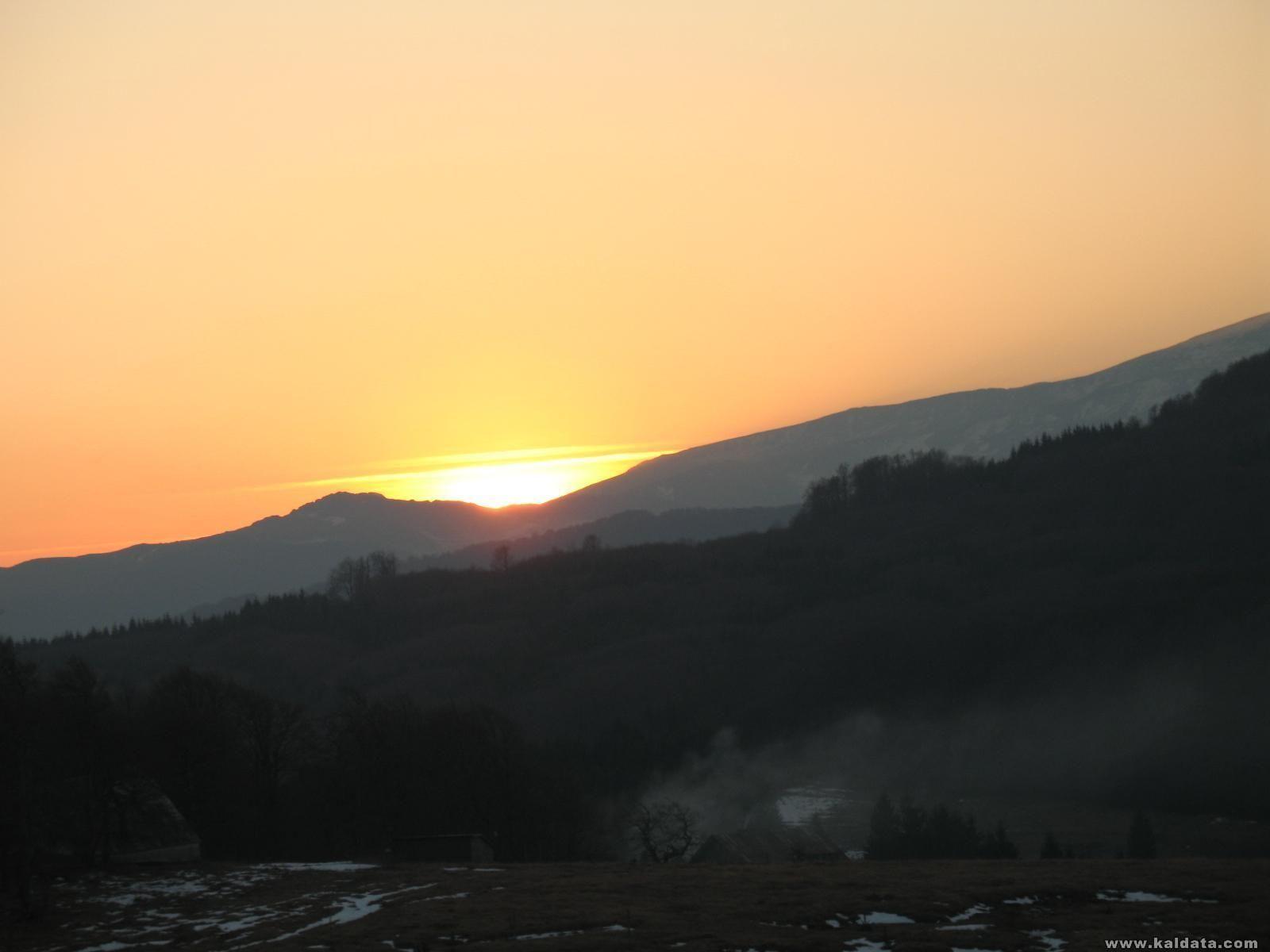 залез над Стара планина