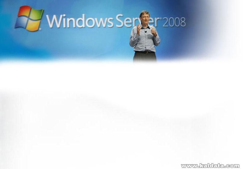 Windows Server 2008 and Bill Gates