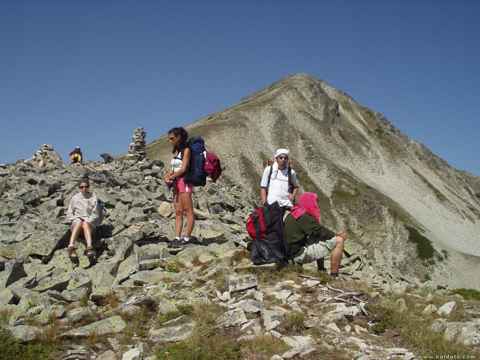 Пирин - връх Полежан