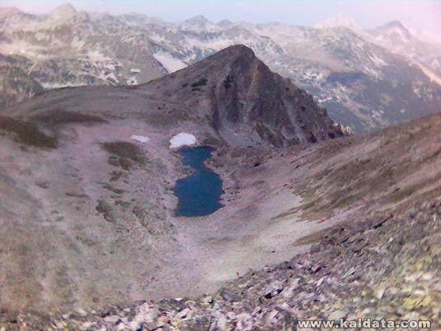 Пирин - най-високото езеро в България
