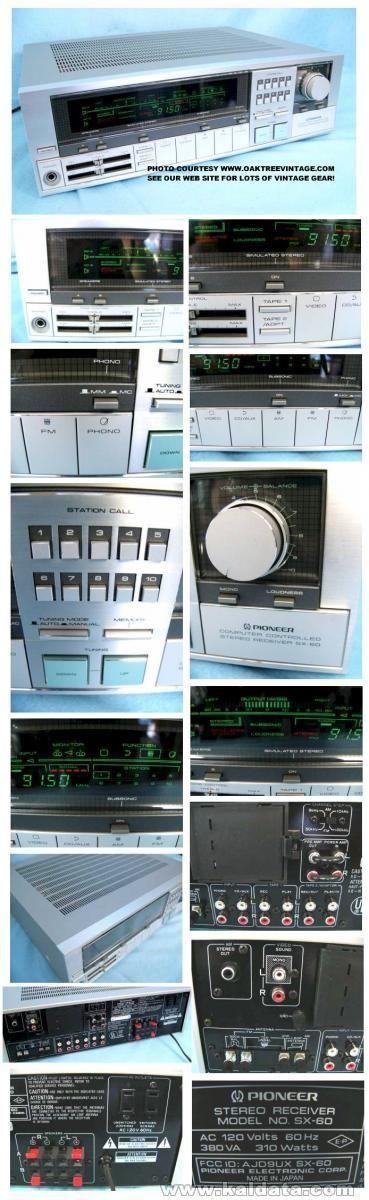 JVC 5456X Quadraphonic Receiver with Joystick Remote Control
