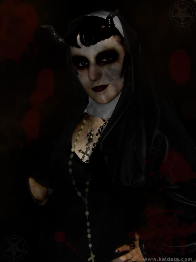 Satanic NUN!!!