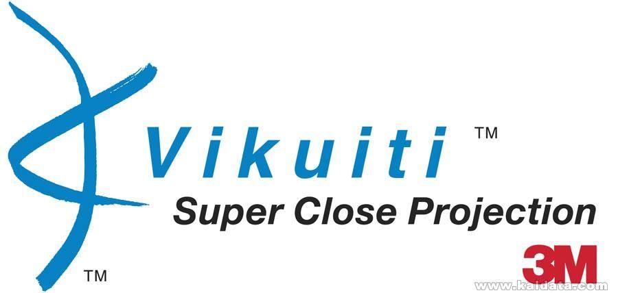 Vikuiti Logo Super Close Projection