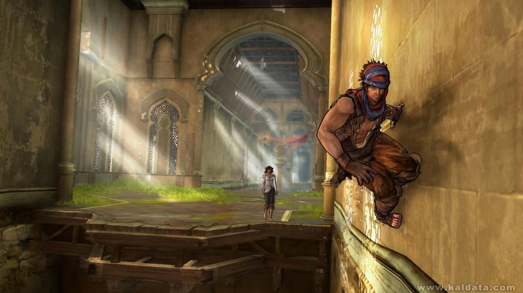 Prince of Persia 4 - Walllrun