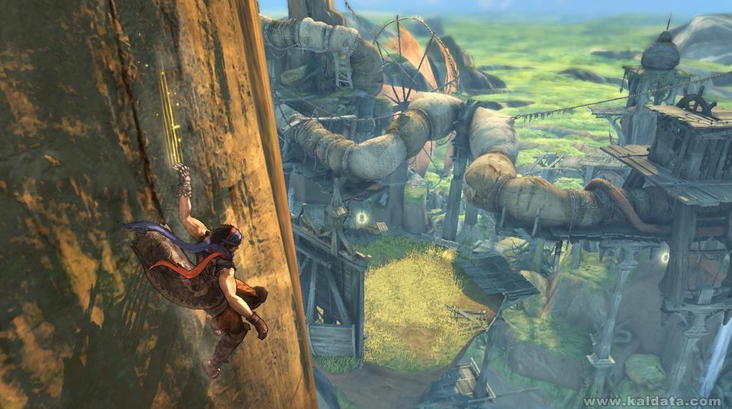 Prince of Persia 4 - Gripfall