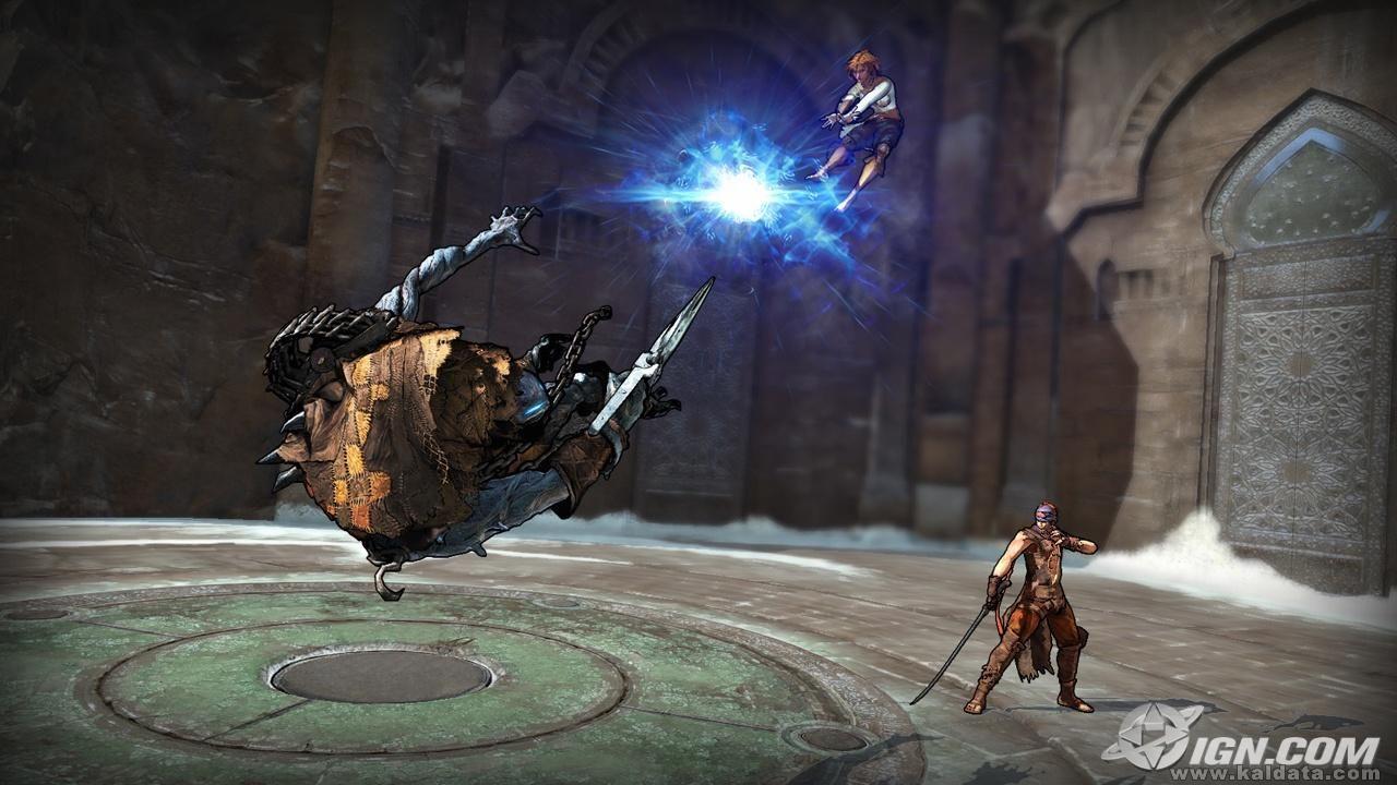 Prince of Persia 4 - The Prince and Elika vs. The Hunter 3