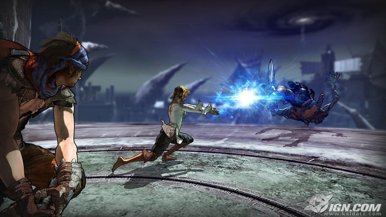 Prince of Persia 4 - The Prince and Elika vs. The Hunter 2