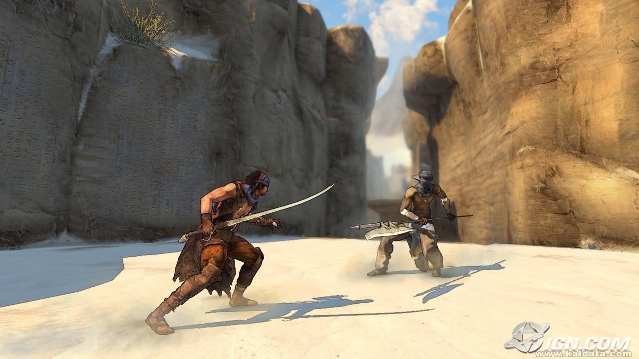 Prince of Persia 4: Screen Shot 1
