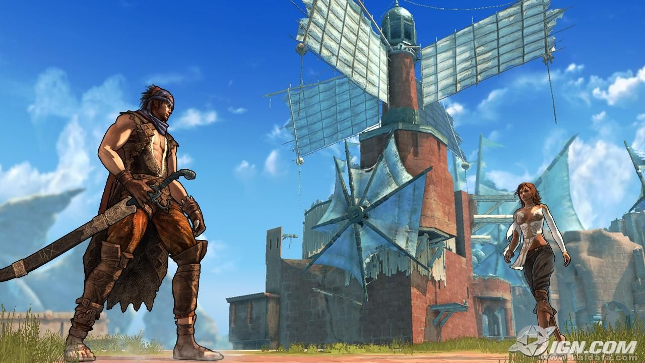 Prince of Persia 4: Screen Shot 2