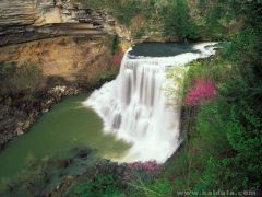 phoca_thumb_l_Burgess Falls in Early Spring, Tennessee.jpg
