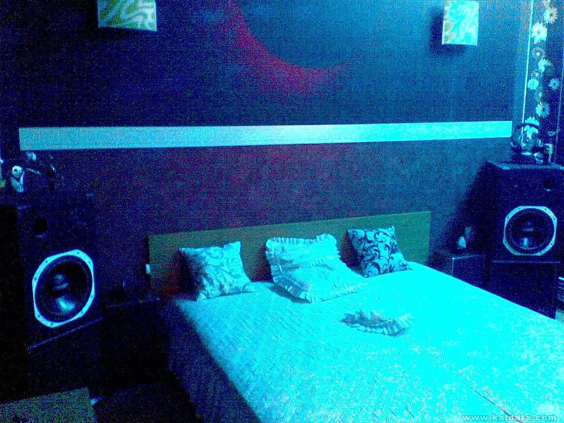 Завършеният проект на стаята ми.