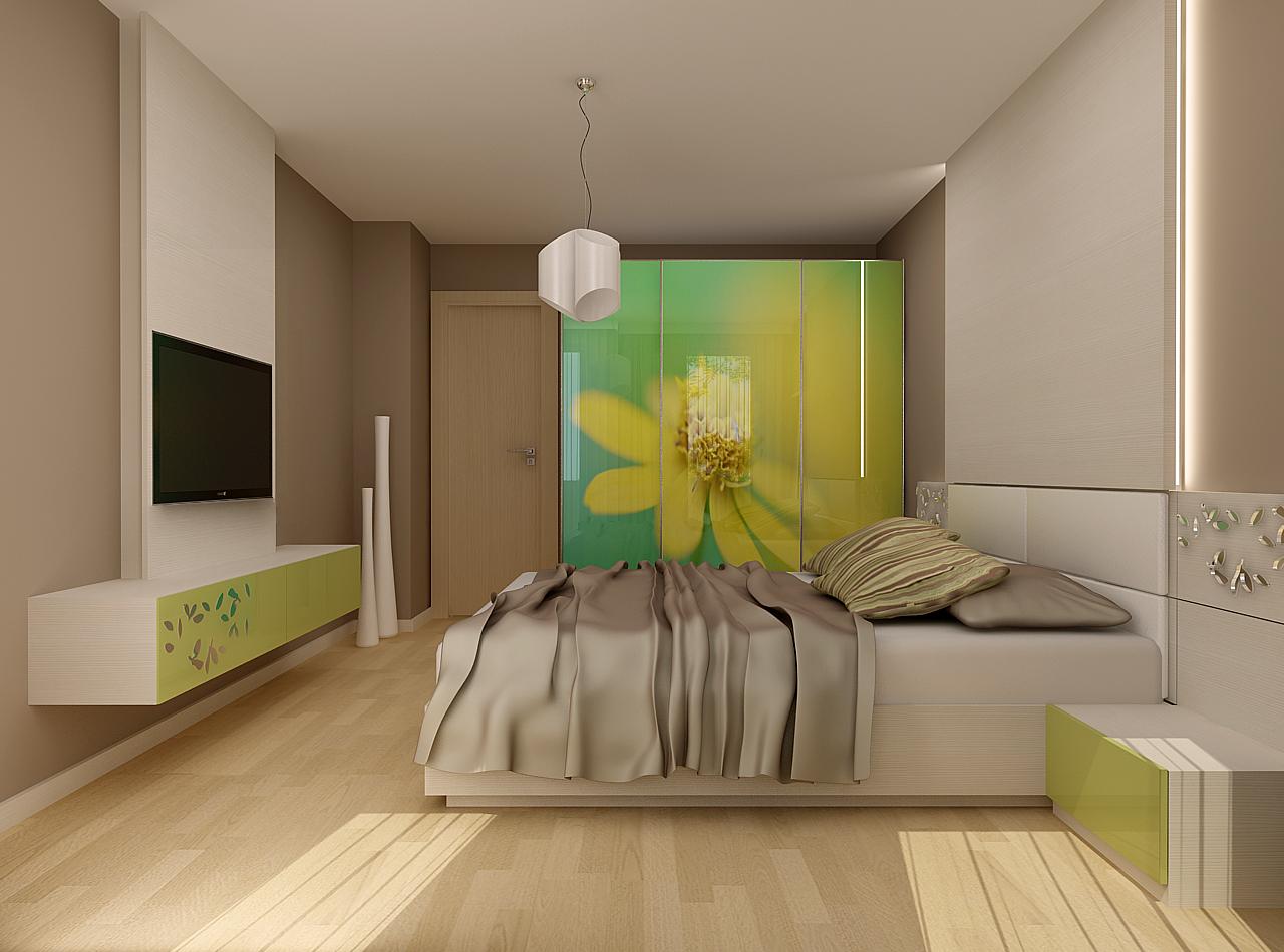 """Истерия Дизайн – проект """"Редута"""" – Спалня за гости"""