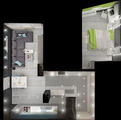 истерия дизайн България спалня 6