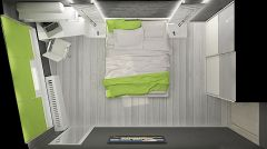 истерия дизайн България спалня 5