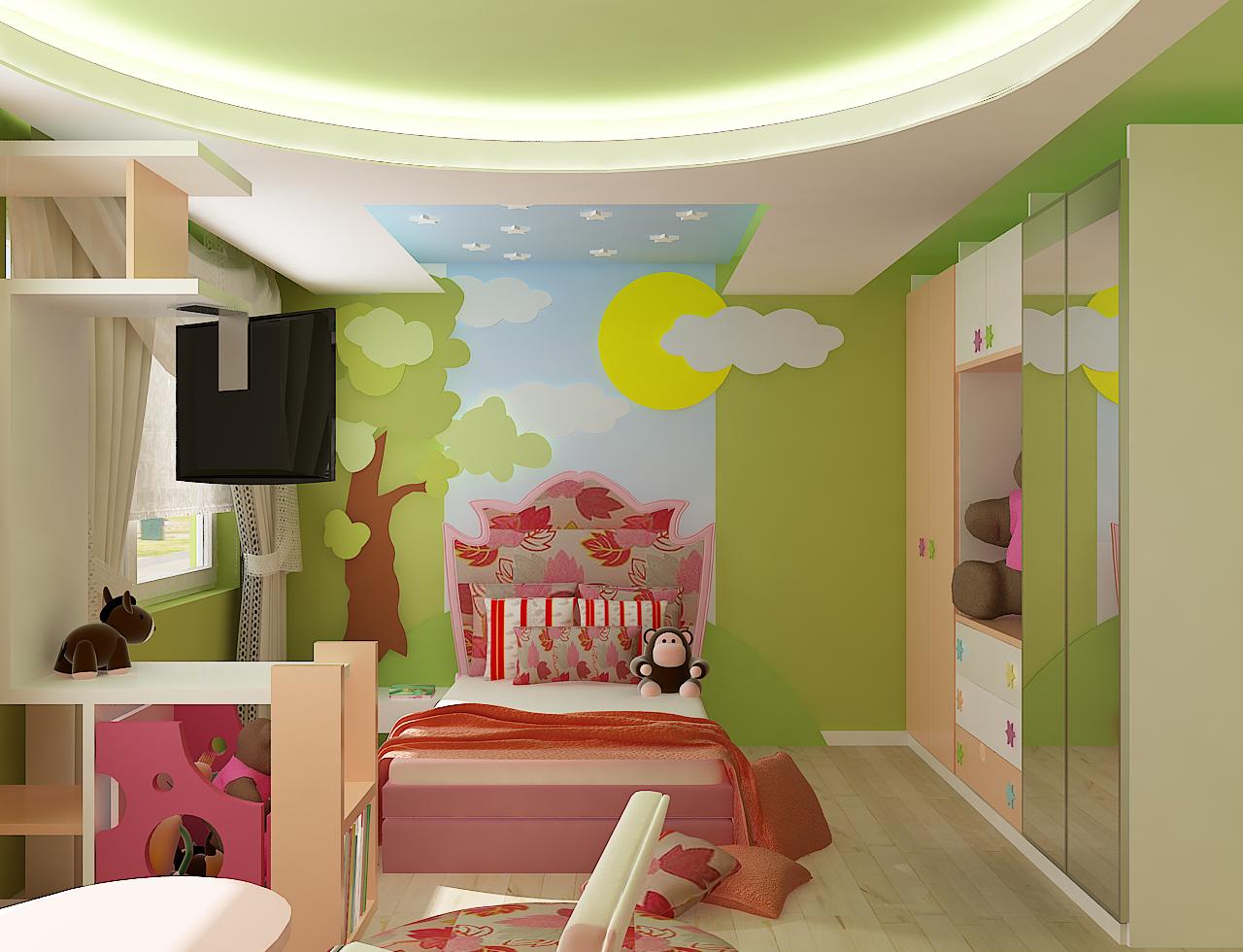 истерия дизайн дианабад детска стая 3