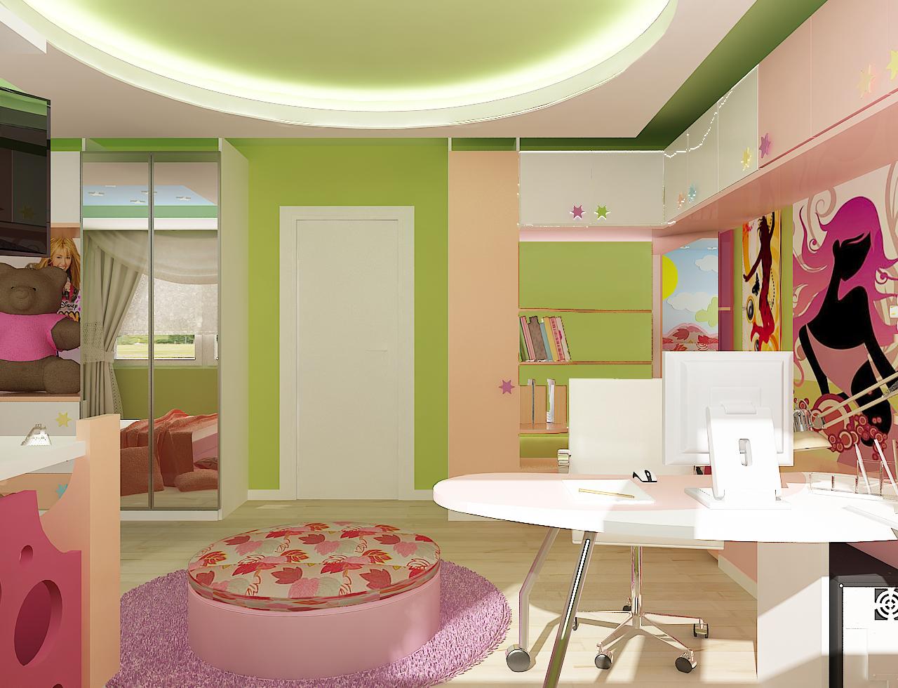 истерия дизайн дианабад детска стая 4