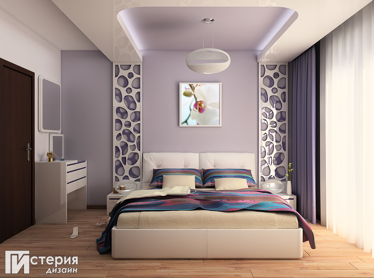 "Истерия Дизайн – проект ""Борово"" – Спалня"