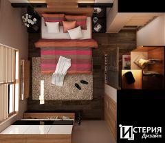 истерия дизайн виера Спалня1  7