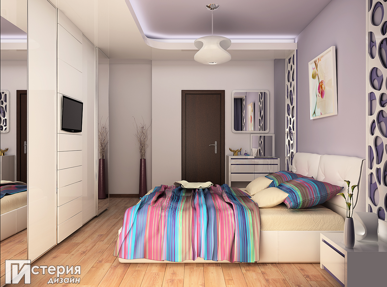 истерия дизайн Борово спалня 3