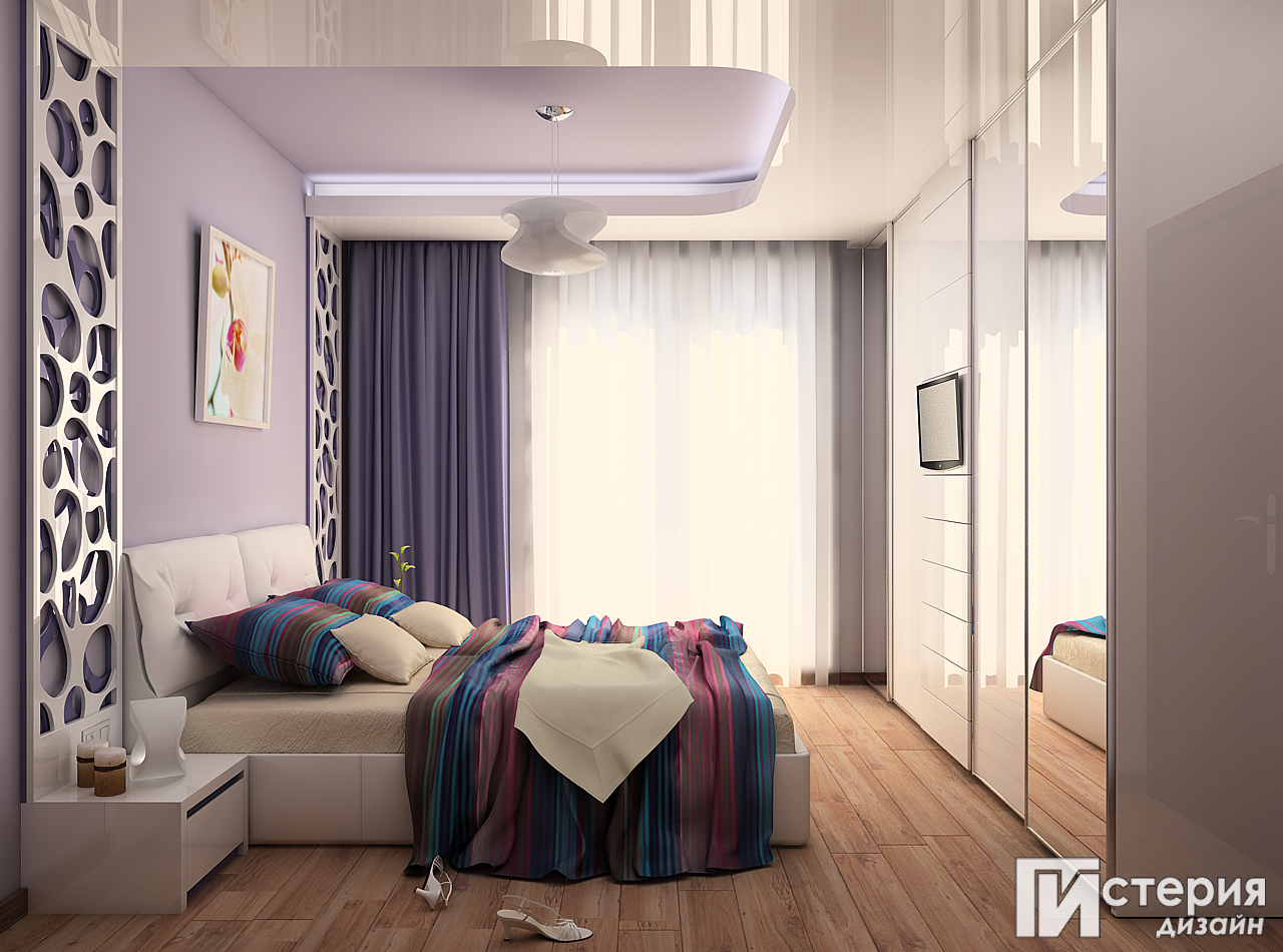 истерия дизайн Борово спалня 4
