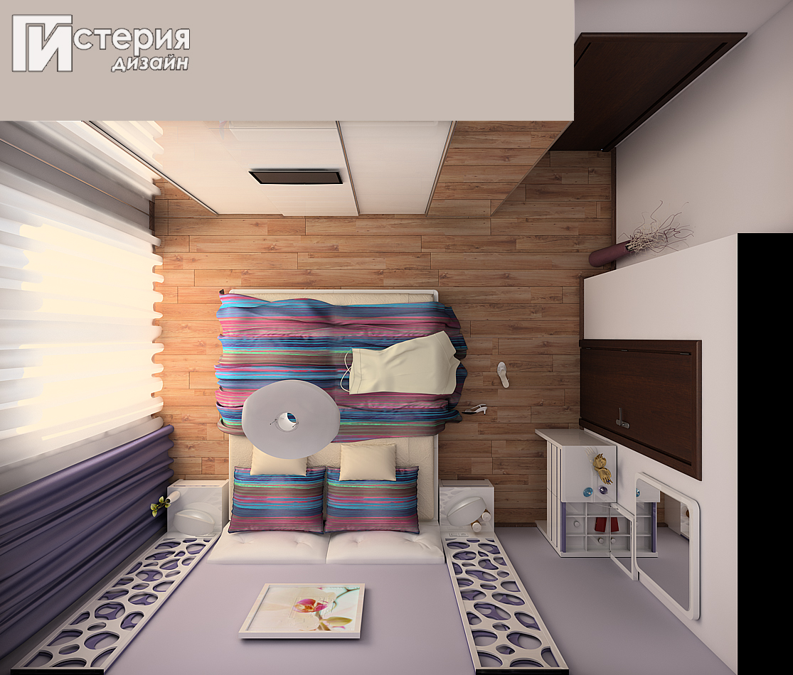 истерия дизайн Борово спалня 1