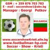01.Manager : Georgi Petkov - Soccer - Show - Kristi