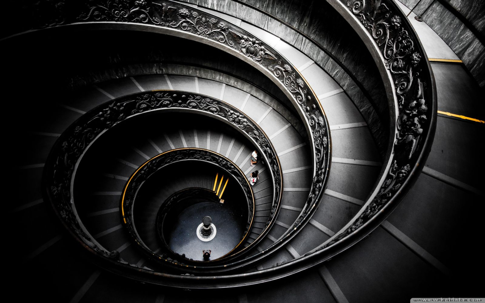 spiral stairs vatican museums 31155