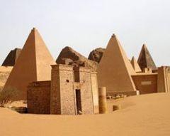 Meroe, Sudan pyramids