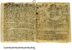Copts magic paper, 8th century AC
