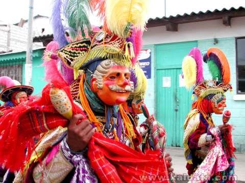Мъжки носии от Гватемала