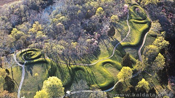 Хълмът на Великата змия, Охайо, САЩ