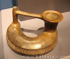 Олмекски златен артефакт
