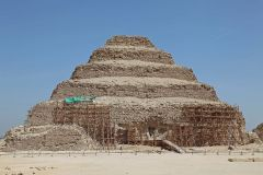 Сахара, Стъпаловидна пирамида