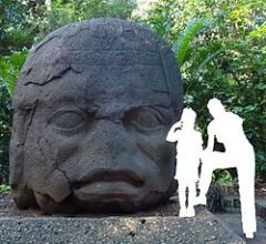 Олмекска гигантска глава