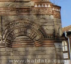 Swastika, church Nessebar