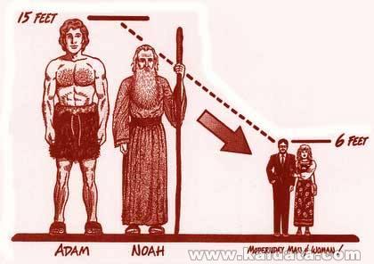 Giants evolution