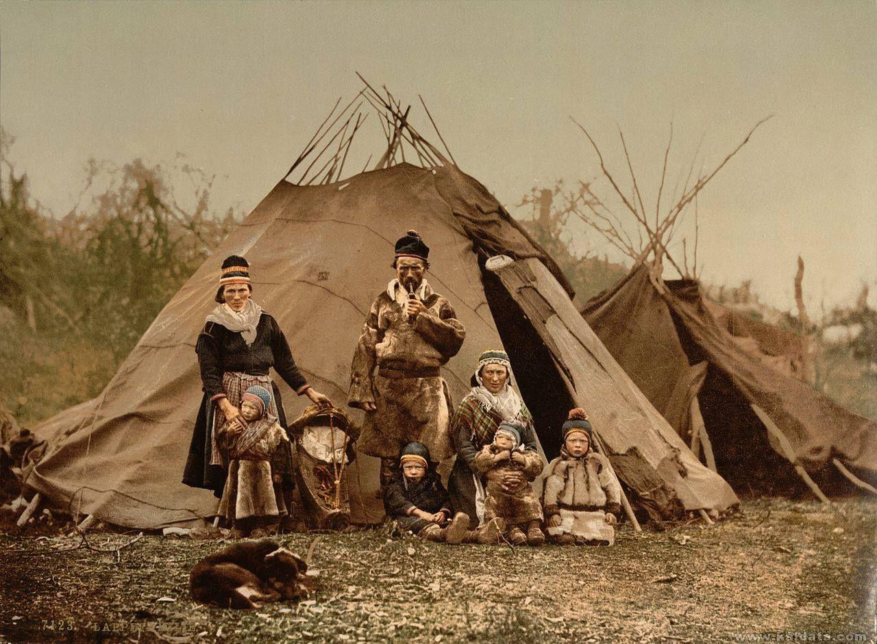 Sami Scandinavian tribe 19th C. / Скандинавско племе Сами