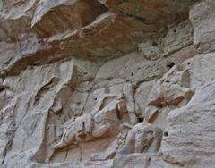 Копие на Мадарския конник, намерено в Афганистан