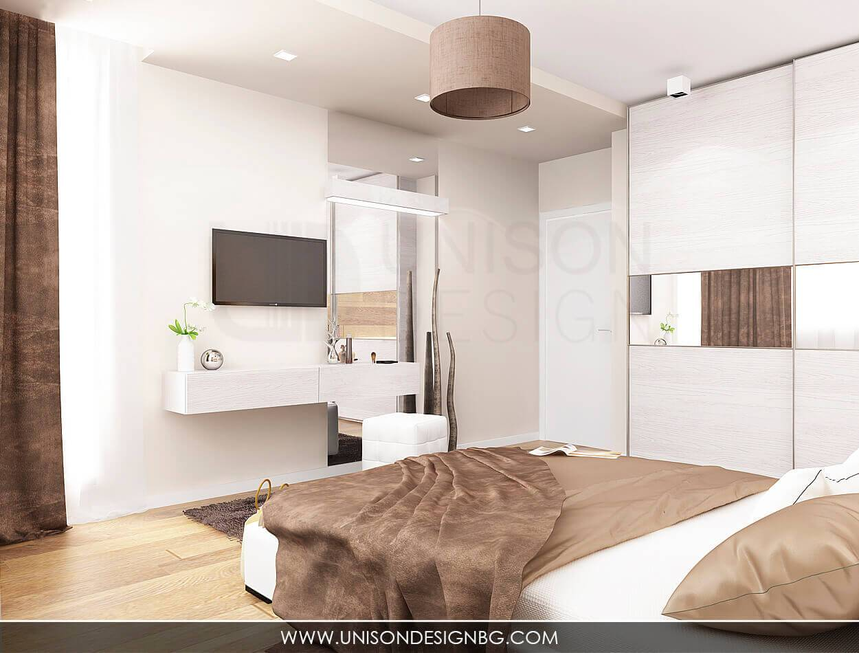 Интериорен-дизайн-кафява-спялня-тоалетка-бяла-спалня-3D-визуализация-модерен-малак-апартамент-Ралица-Запрянова-Unison-Design-6.jpg