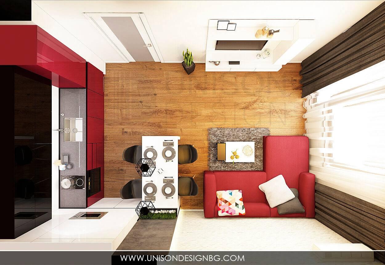 Интериорен-дизайн-хол-кухня-всекидневна-в-черно-бяло-модерен-проект-декоративна-мазилка-интериорен-дизайнер-Ралица-Запрянова.jpg