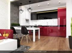 Интериорен-дизайн-на-дневна-кухня-всекидневна-в-черно-бяло-червено-модерен-проект-интериорен-дизайнер-Ралица-Запрянова-Unison-Design-София-2.jpg