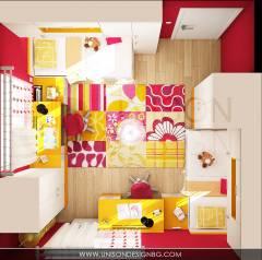 Детска-стая-за-момичета-малинова-жълта-интериорен-дизайн-проект-визуализация-detska-staq-interioren-dizain.jpg