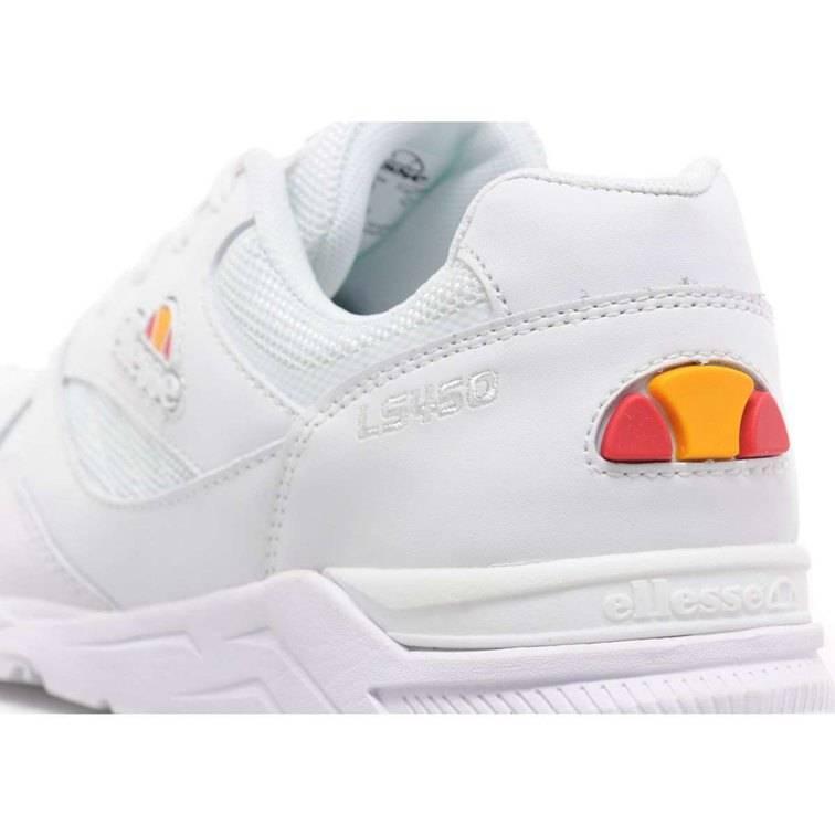 Mens Ellesse LS450 - White Ellesse Trainers - Mens Ellesse Shoes W67r3491 555_3_LRG.jpg