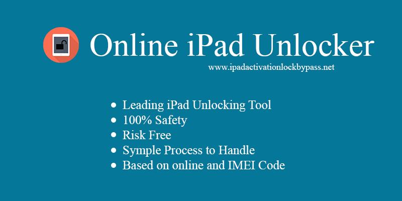 Online iPad Unlocker