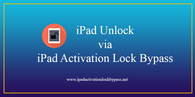 iPad Unlock via