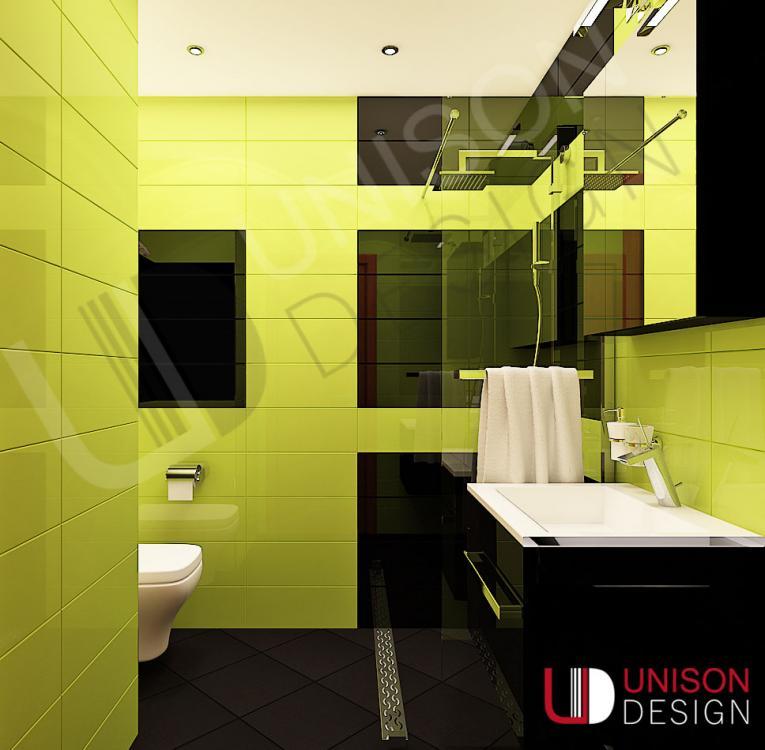 Интериорен дизайн-баня-обзавеждане-баня зелено-баня черно-Unison Design-interioren dizajn-1.jpg