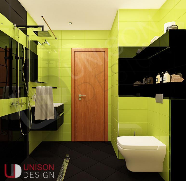 Интериорен дизайн-баня-обзавеждане-баня зелено-баня черно-Unison Design-interioren dizajn-3.jpg