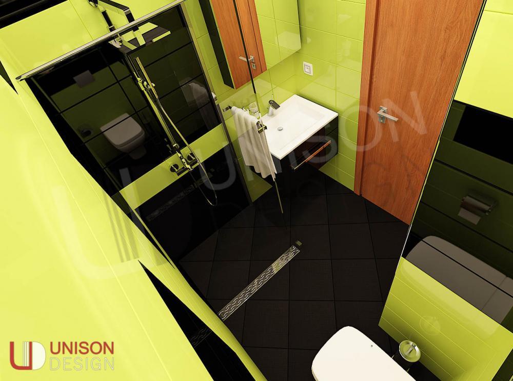 Интериорен дизайн-баня-обзавеждане-баня зелено-баня черно-Unison Design-interioren dizajn-4.jpg